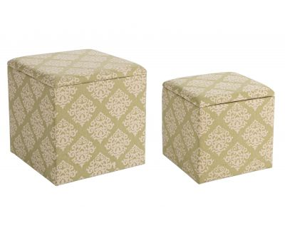 SET2 POUF ARABESQUE VERDE