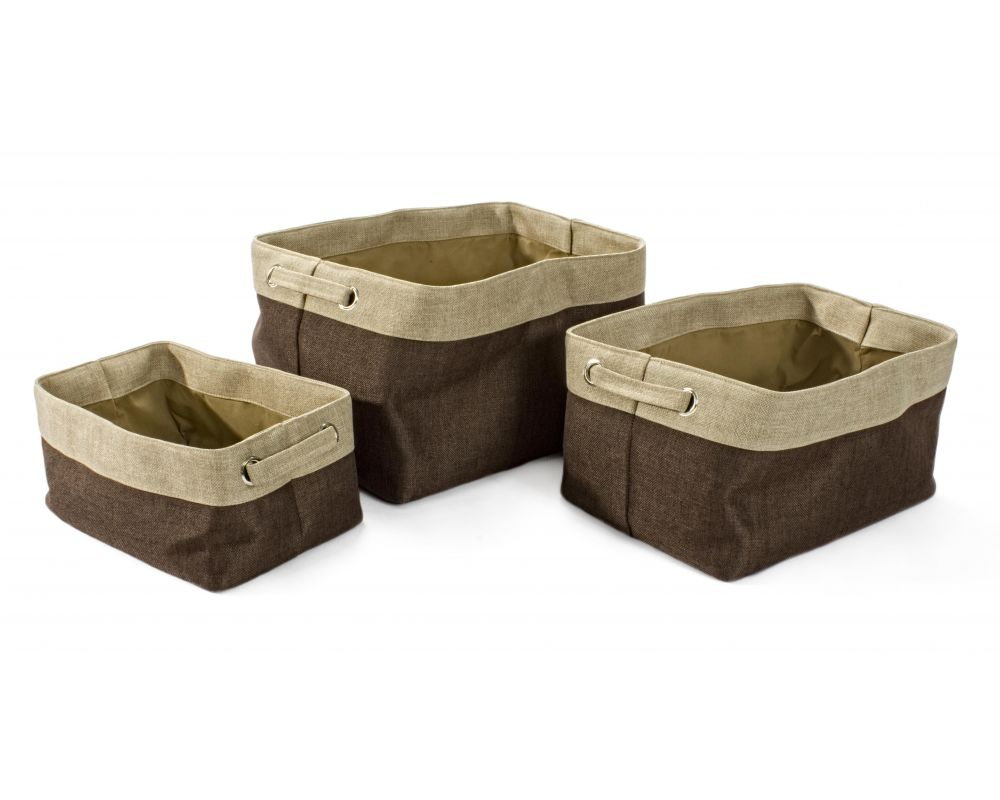 SET3 CESTA SPACE MARRONE