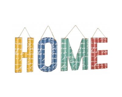 SET PLACCA MET LETTERE HOME