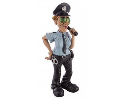 STATUETTA CARICATURA POLICE