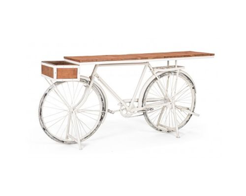 CONSOLLE BICYCLE BIANCO