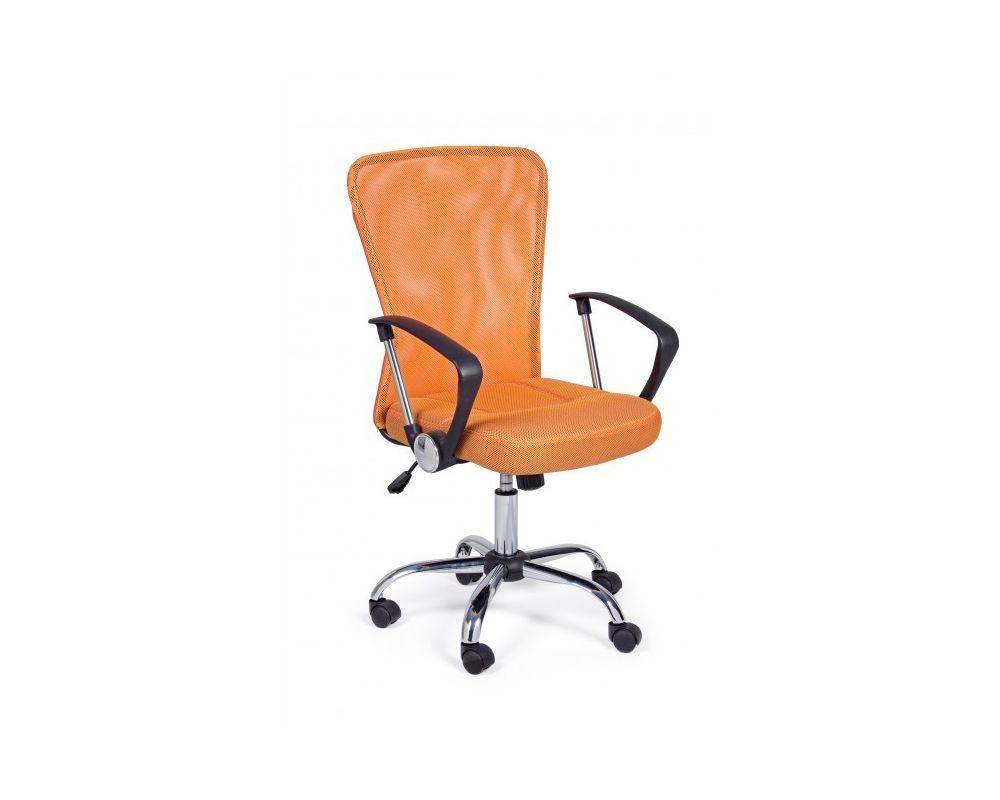 Sedie Da Ufficio Arancione.Sedia Ufficio C Br Brisbane Arancio Bizzotto