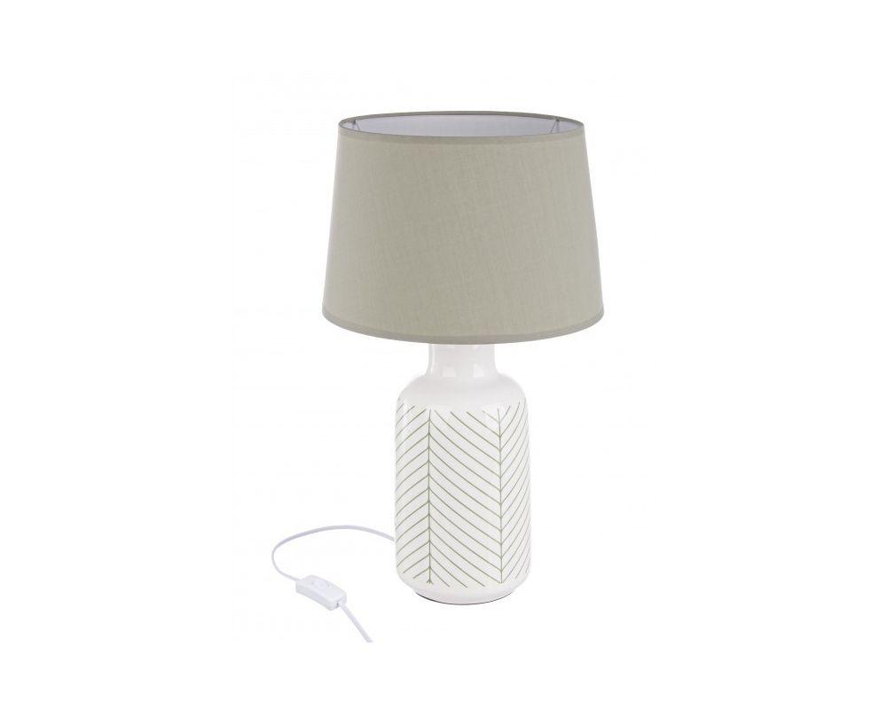 LAMPADA TAV. LEAF CR VERDE H48