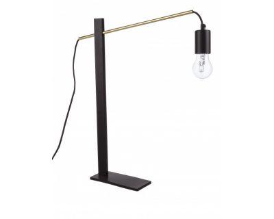 LAMPADA TAV. CARTER NERO H50