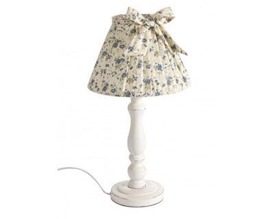 LAMPADA TAV. ROSELLINE BLU LEGNO H40