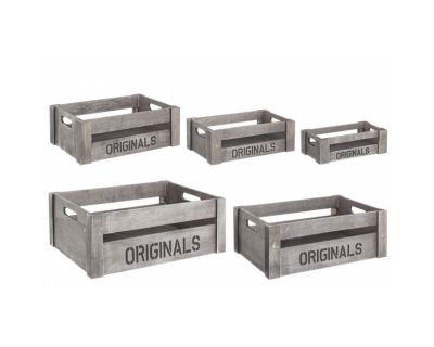 SET5 CASSETTINA ORIGINALS GRIGIO