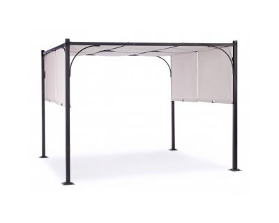 GAZEBO SLIDE 3X3 ANTRACITE-GRIGIO