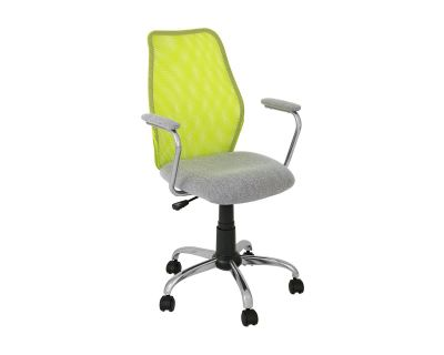 SEDIA C-BR PLAY LIME-ARGENTO