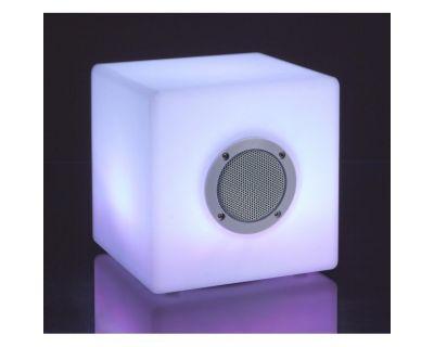LAMPADA LED CUBO SPEAKER PE 20X20