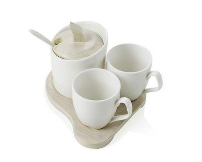 COFFE SET 3 TAZZINE SQUARE