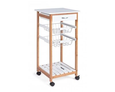 CARR.CUCINA SMALL CHEF 3CEST-1C BIANCO
