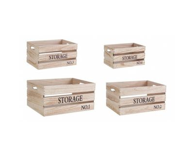 SET4 CASSETTINA STORAGE N.1 NAT