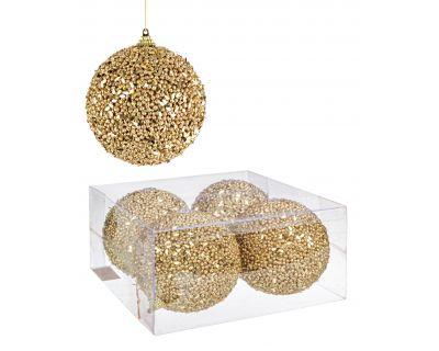 Conf4 sfera strass oro d100
