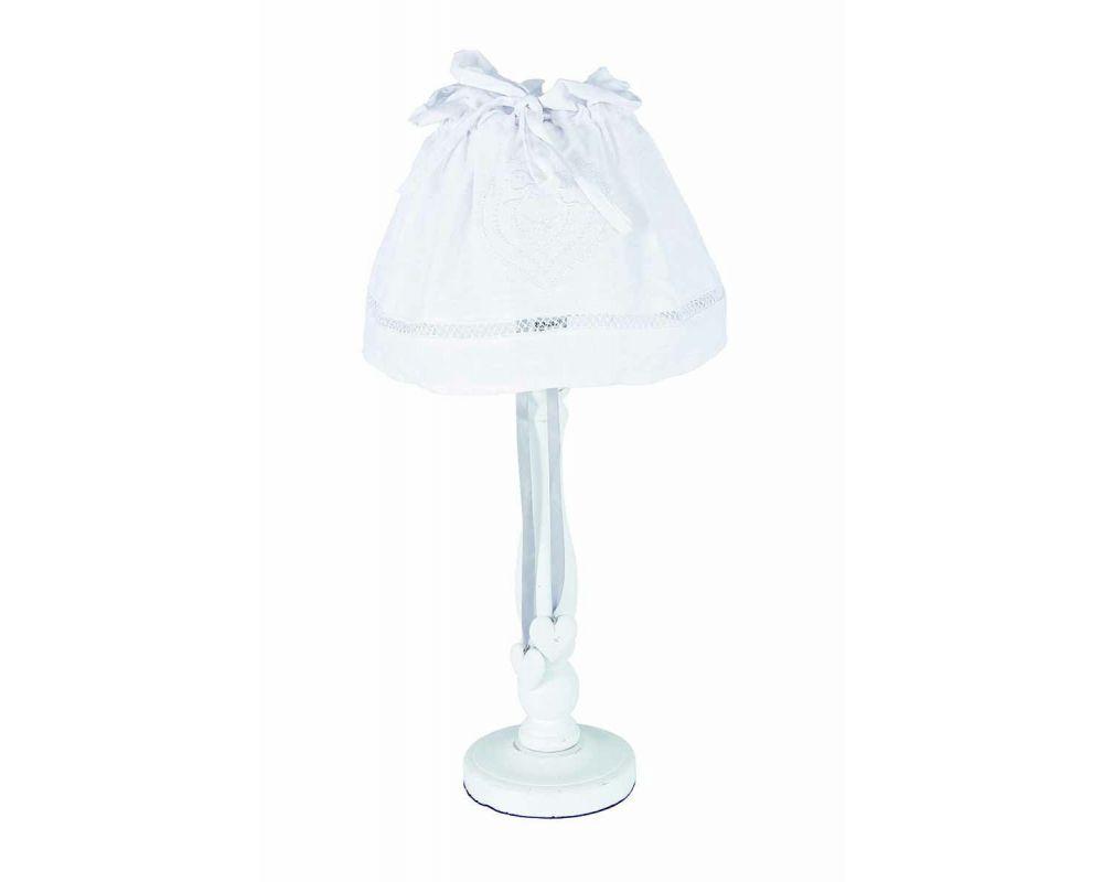 LAMPADA TAV. AVIGNONE LEGNO BIANCO H50
