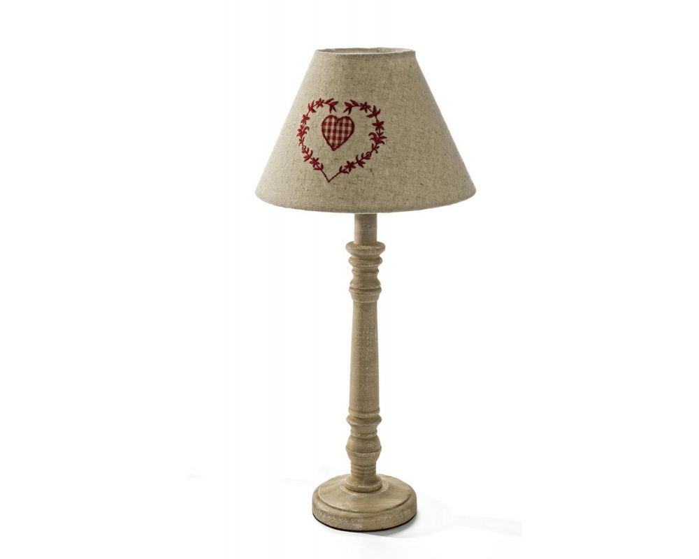 LAMPADA TAV.TIROLO LEGNO CHIARO H55