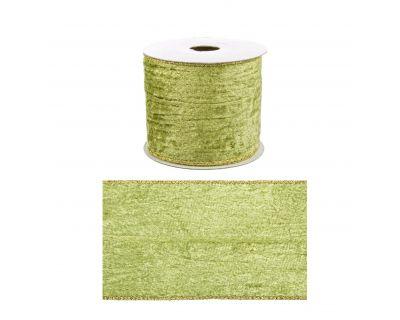 Nastro double vell verd-oro...