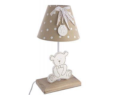 LAMPADA TAV. TEDDY LEGNO H36