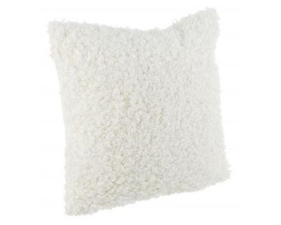 Cuscino curly bianco 45x45