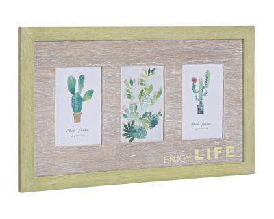 Porta foto 3f cactus 10x15