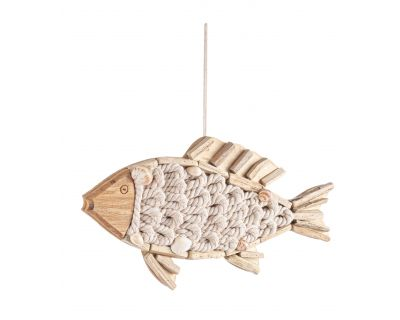 Decorazione pesce cotton