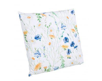 Cuscino floral verde 45x45