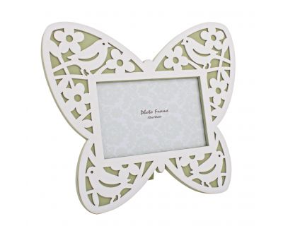 Porta foto bird farfalla verde