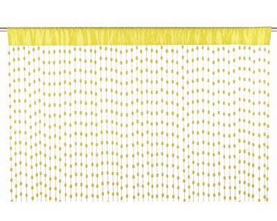 Tenda palline giallo 140x280h