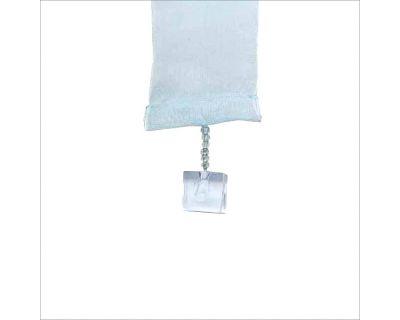 Tenda strisce azzurro 140x280h