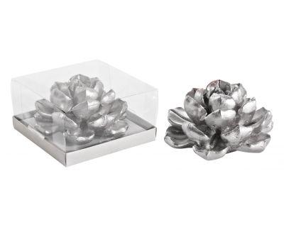 Candela romantica argento