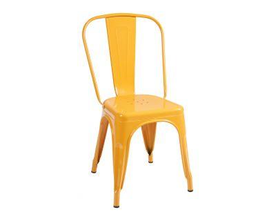 Cindy-sedia in metal. color...