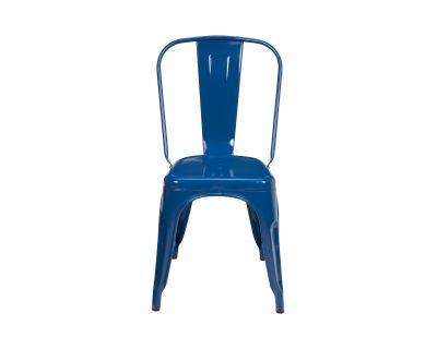 Cindy - sedia blue petrolio