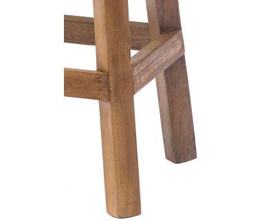 Sgabello alto in legno di...