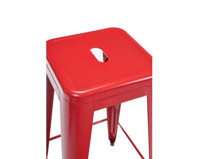 Cindy - sgabello rosso