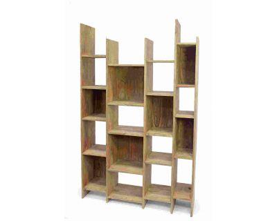 Libreria sfalsata in legno...