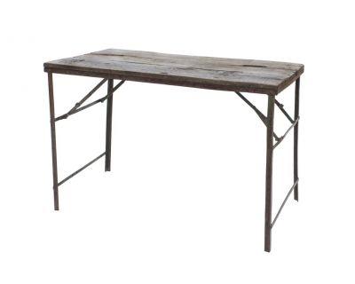 Tavolo alto in legno di...