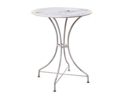 Tavolo ferro rotondo white...