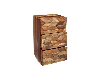 Cubic - comodino 3 cassetti...