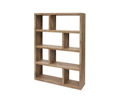 Libreria sfalzata in legno