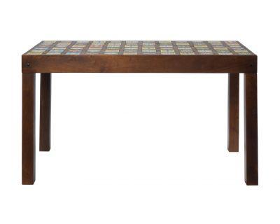 Tavolo alto in legno scuro...