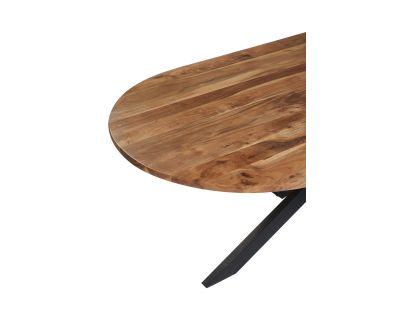 Tavolo pranzo ovalein legno...