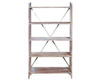 Libreria 5 ripiani in legno...