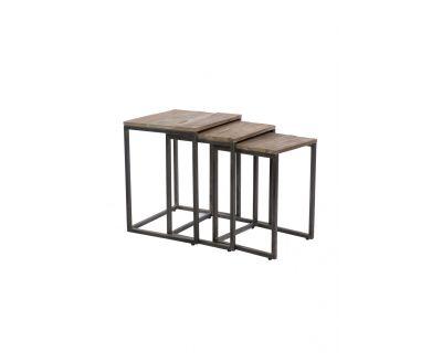 Tavolino basso in legno -...