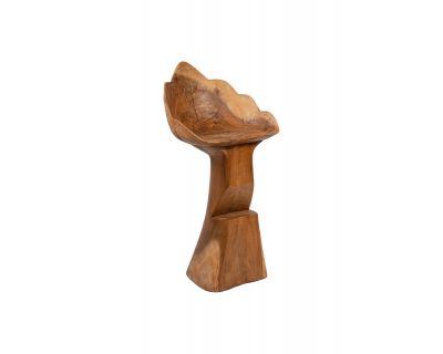Sgabello alto in legno