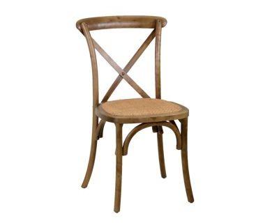Sedia legno cross marrone...