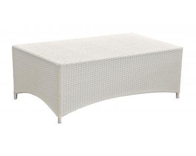 Tavolino clipper bianco crema
