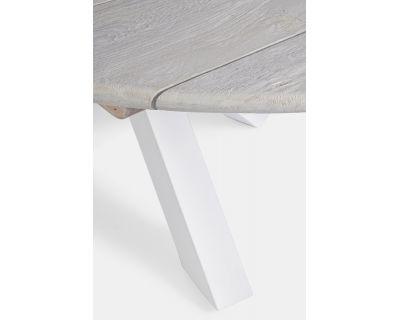 Tavolo donald d150 bianco pm01