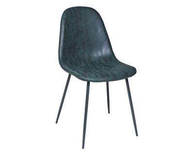Paddy - sedia imbottita verde