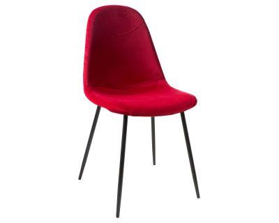 Paddy - sedia velluto rossa...