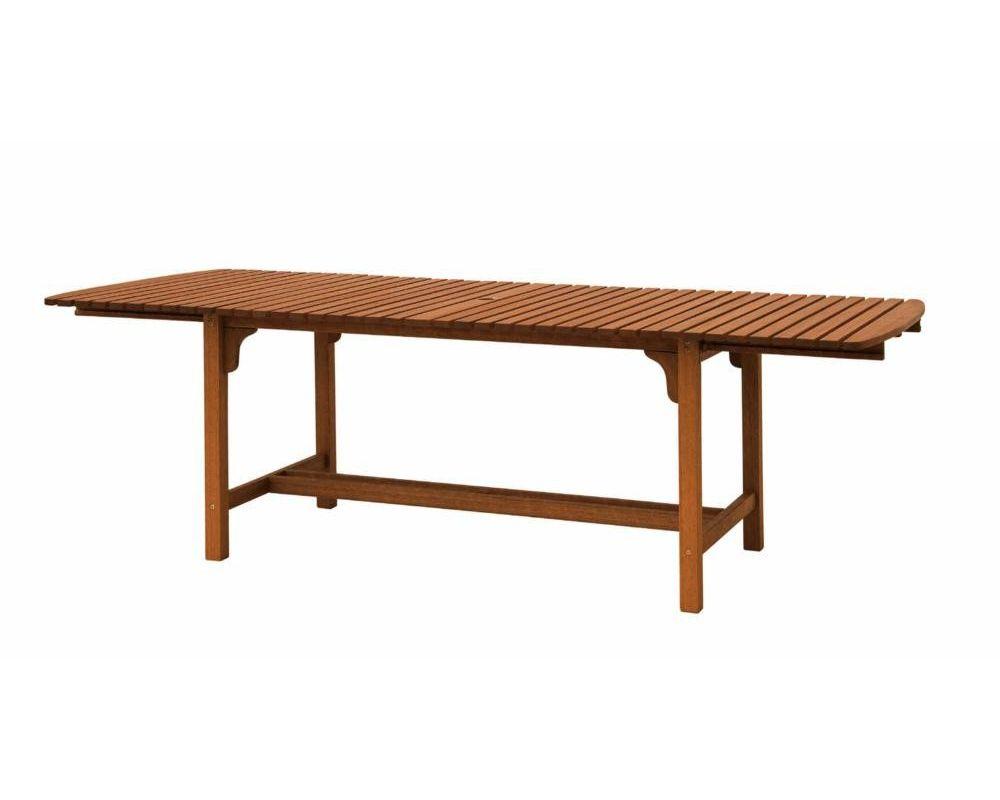 Tavolo in legno estensibile da giardino