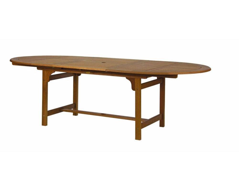 Tavolo in legno estensibile da giardino 160/220X110